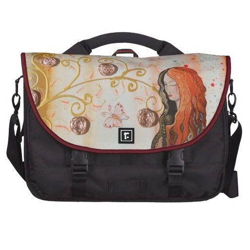 Commuter Bag Ginger Lady Elegant Art Nouveau black #bag