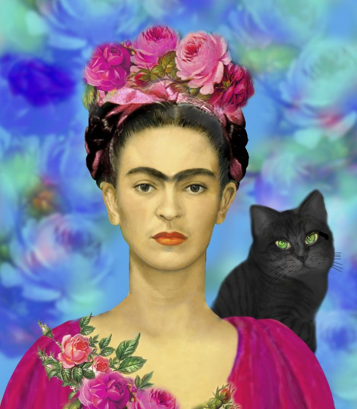 """6"""" x 6"""" Collectible Frida Khalo Ceramic Tile with Easel. $30"""