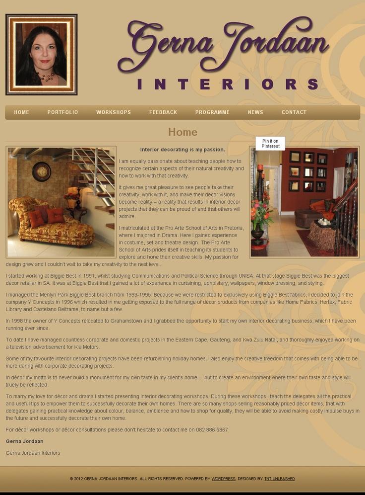 Gerna Jordaan Interiors: Interior design is my passion  http://gernajordaaninteriors.co.za/
