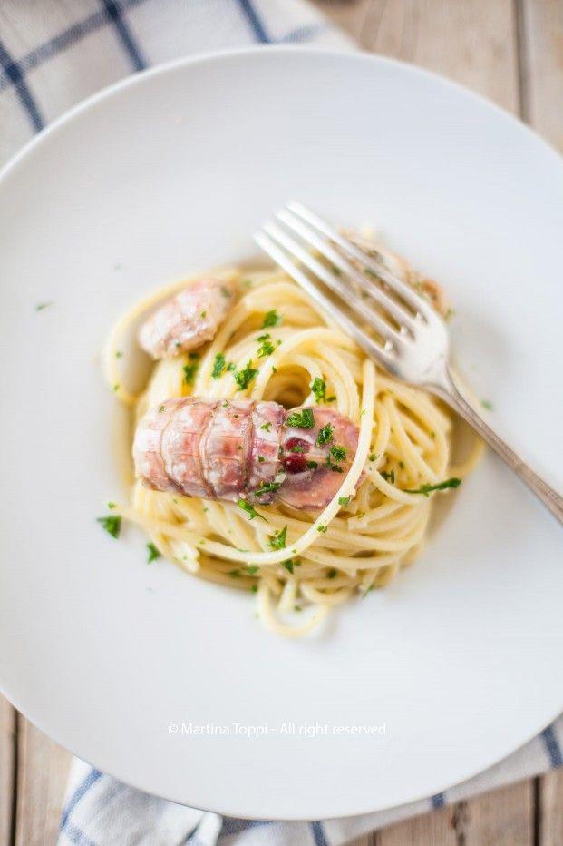 Ricetta pasta con le cicale di mare