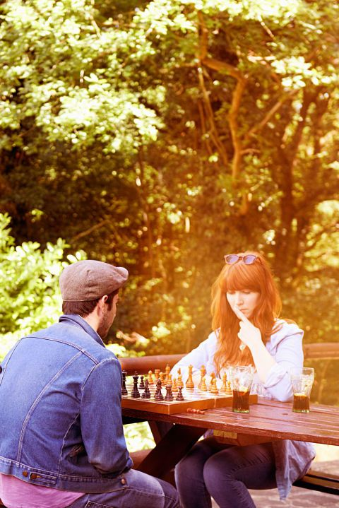 Whether its chess or you geek out and play Catan, it's fun to get competitive. Competition is sexy, right?