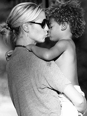 Chic Moms: Heidi Klum and her son share a moment! #chicmoms #chicrebellion