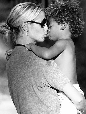 Chic Moms: Heidi Klum and her son share a moment! #chicmoms #chicrebellion