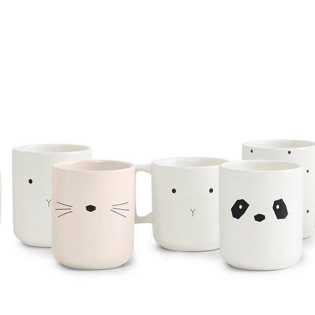 WEBSTA @ liewood_design - THE STONEWARE COLLECTION will be in stores in December #nordicdesign #kids #stoneware #newcollection #panda #rabbit #cat #classicdot #cannotwait