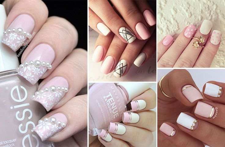 Δημιουργήστε εκπληκτικά άσπρα - ροζ νύχια βασισμένα στα top nail trends. Μανικιούρ ιδανικά για την καθημερινότητα, αλλά και για πιο επίσημες εμφανίσεις.