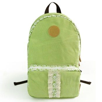 Fresh Floral Print Lace Canvas Backpack for only $24.90 ,cheap Fashion Backpacks - Fashion Bags online shopping,Fresh Floral Print Lace Canvas Backpack is cute and sweet. It is the perfect gift for her. It can be used as school bag and travelling bag.