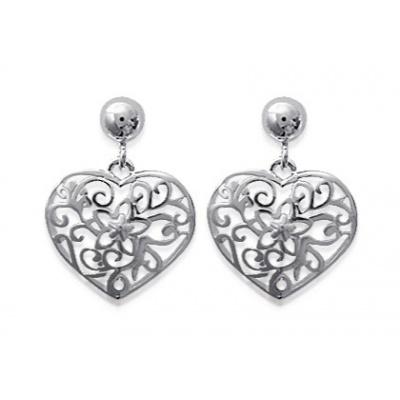 Boucles d'oreilles Cœur Arabesque http://www.bijoux-argent-925.fr/boucles-doreilles-coeur-arabesque-p-10087.html