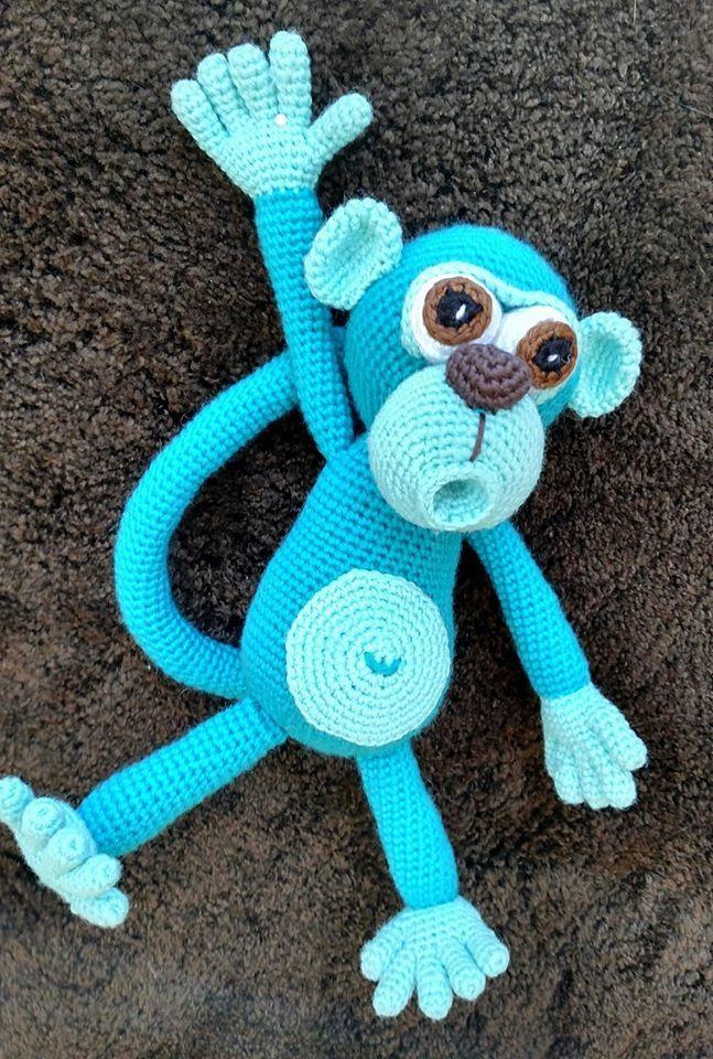 Amigurumi monkey - crochet pattern by Lovely Baby Gift