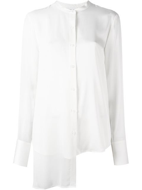 DKNY Asymmetric Shirt. #dkny #cloth #shirt