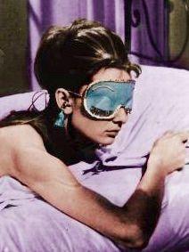 Audrey Hepburn in Breakfast at Tiffany's - tassel earplugs