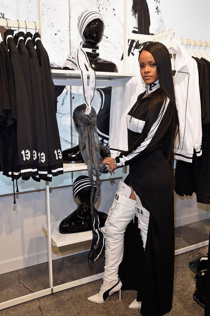 September 6: Rihanna at the second #FentyxPuma Launch Event