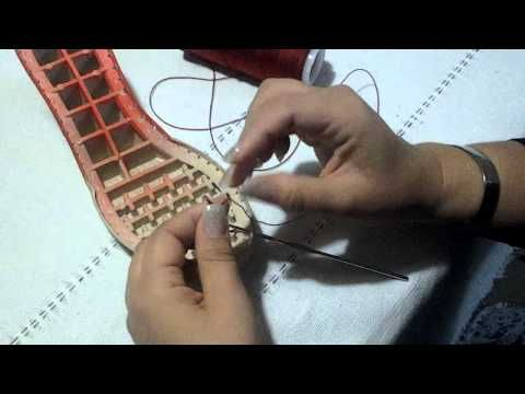 Tejido de zapatos a crochet 1 - YouTube