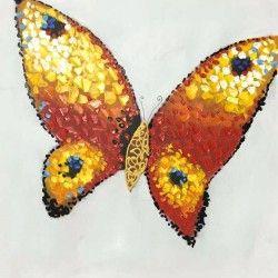 Butterfly I! Handmålad fjärilstavla som verkligen ger ditt hem en snygg touch. Få din dagliga dos energi varje gång du går förbi denna storslagna canvastavla!  Länk till produkt: http://www.feelhome.se/produkt/butterfly-i/  #Homedecoration #Canvas #olipainting #art #interior #design #Painting #handpainted #interiordesign #canvastavla #canvastavlor #animal #djur #fjäril #Butterfly #natur #hemet #Vardagsrum #Kontor #Abstrakt #Modernt
