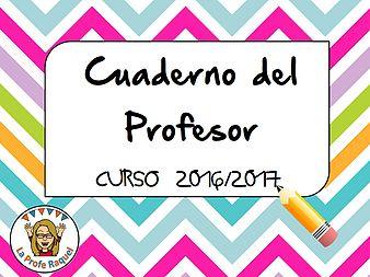 maestros | Cuaderno Profesor  Web deLa profe Raquel