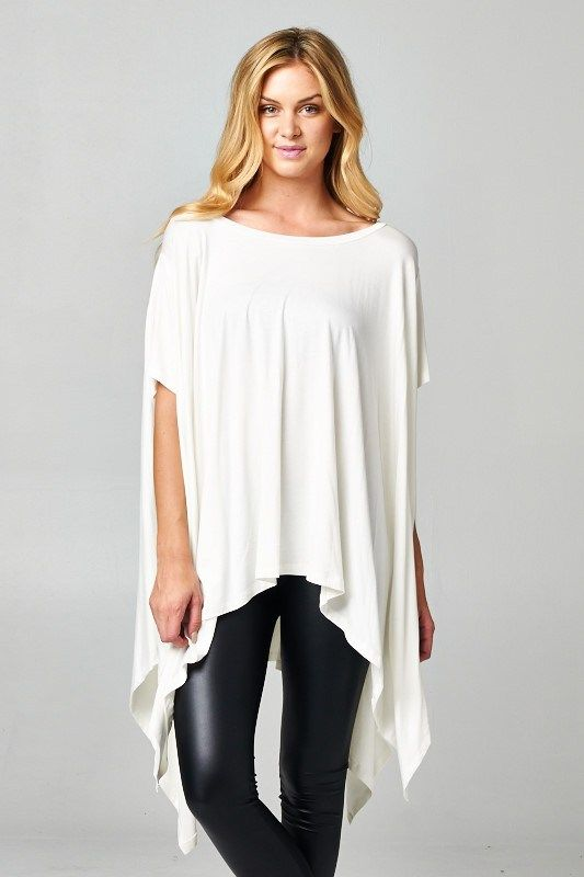 London Tunic in Soft White