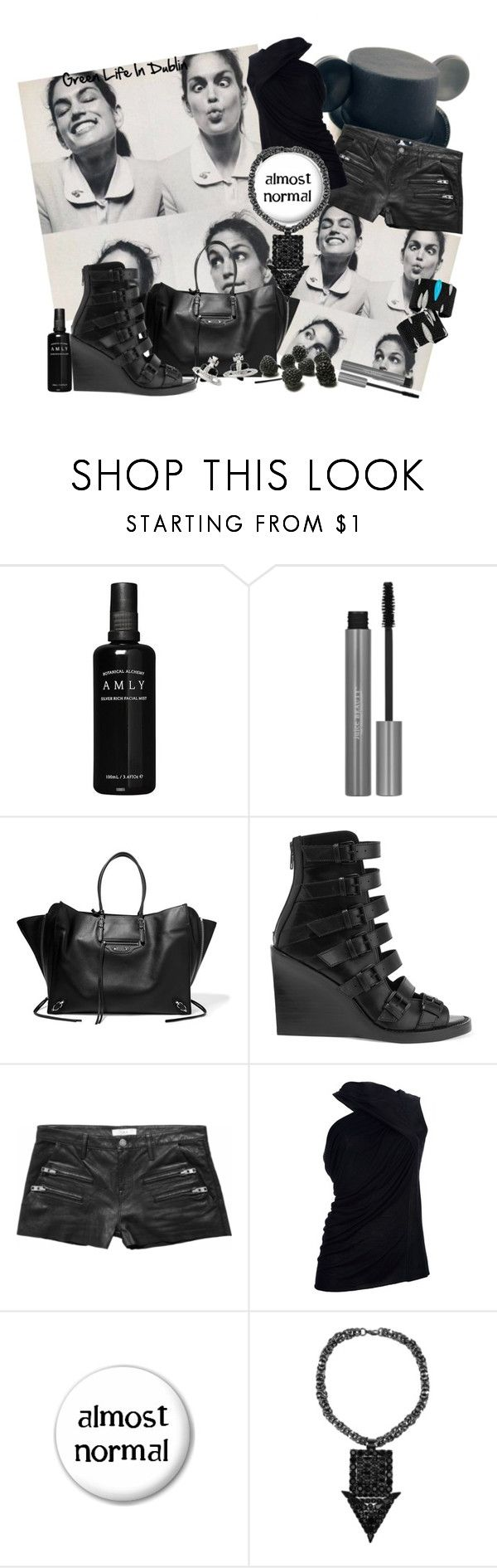 """""""Almost Normal. I swear!"""" by green-life-in-dublin ❤ liked on Polyvore featuring Balenciaga, Ann Demeulemeester, Disney, IRO, Rick Owens, Tom Binns, November and Vivienne Westwood"""