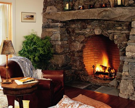 Stone fireplace the best of what 39 s around pinterest for Stone around fireplace
