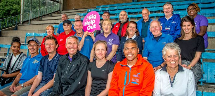 The #BigHelpOut with Join In and BBC Get Inspired is aiming to get 10,000 helpers into sports clubs across the UK. Here's some other ways to get involved…