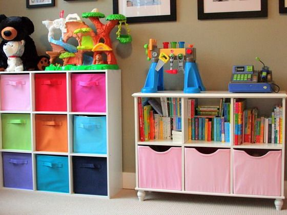 Идеи для хранения игрушек и книг в детской комнате: фото, где и как хранить игрушки