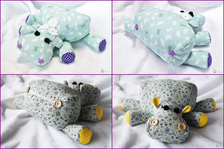 Tried myself a hippo pattern found on Pinterest <3 It was a total success with the kids <3
