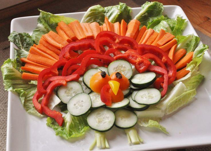 Turkey Veggie Platter!