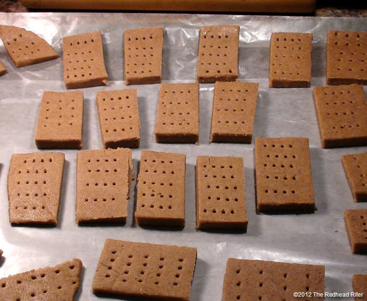Graham Cracker And Graham Wafer Recipe – How To Make Homemade Graham Crackers – Detailed Tutorial
