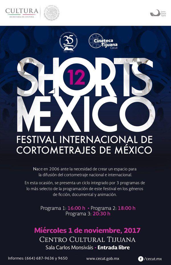 ¡Hoy miércoles 1 de noviembre a las 16:00, 18:00 y 20:30 h en la Sala Carlos Monsiváis del CECUT!