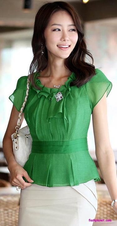 women designer forrmal tops