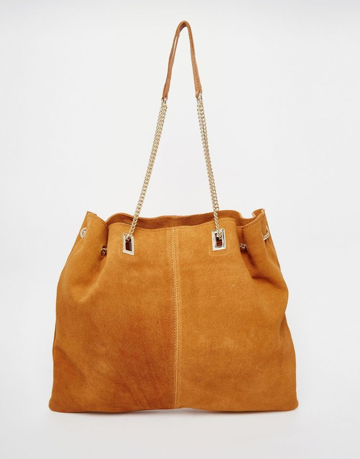 River+Island+Real+Leather+Chain+Bag