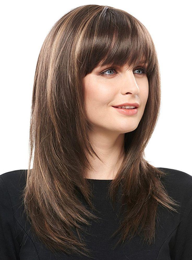 1000 Ideas About Straight Layered Hair On Pinterest Kim