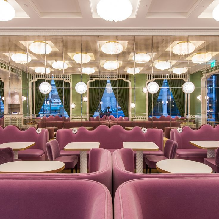 India Mahdavi Puts Modern Spin On 145 Year Old Patisserie Ladure Commercial InteriorsCommercial DesignInterior Design BlogsPastry