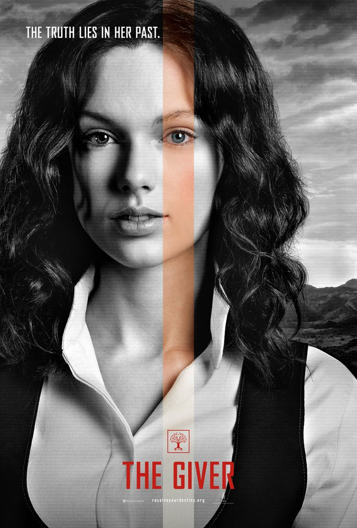Taylor Swift's character poster for The Giver (I just read the book last week and I'm beyond excited for this omg)