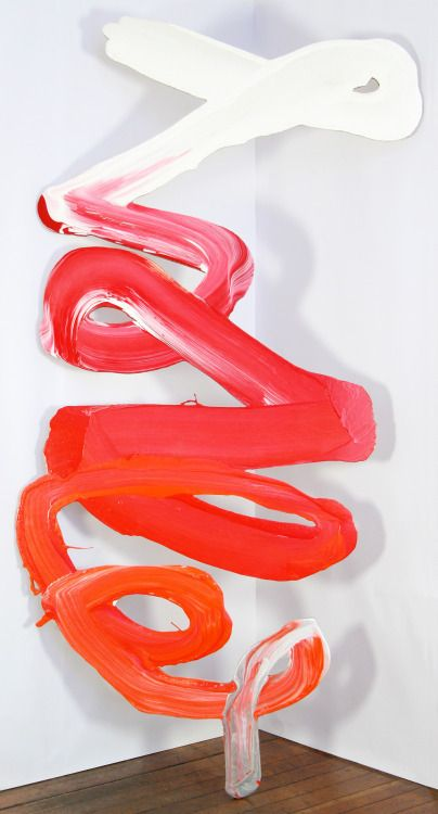 Sculptural paintings from Irish Architect turned Artist Jack Hogan. www.jackhogan.ie From: surface and surface blog