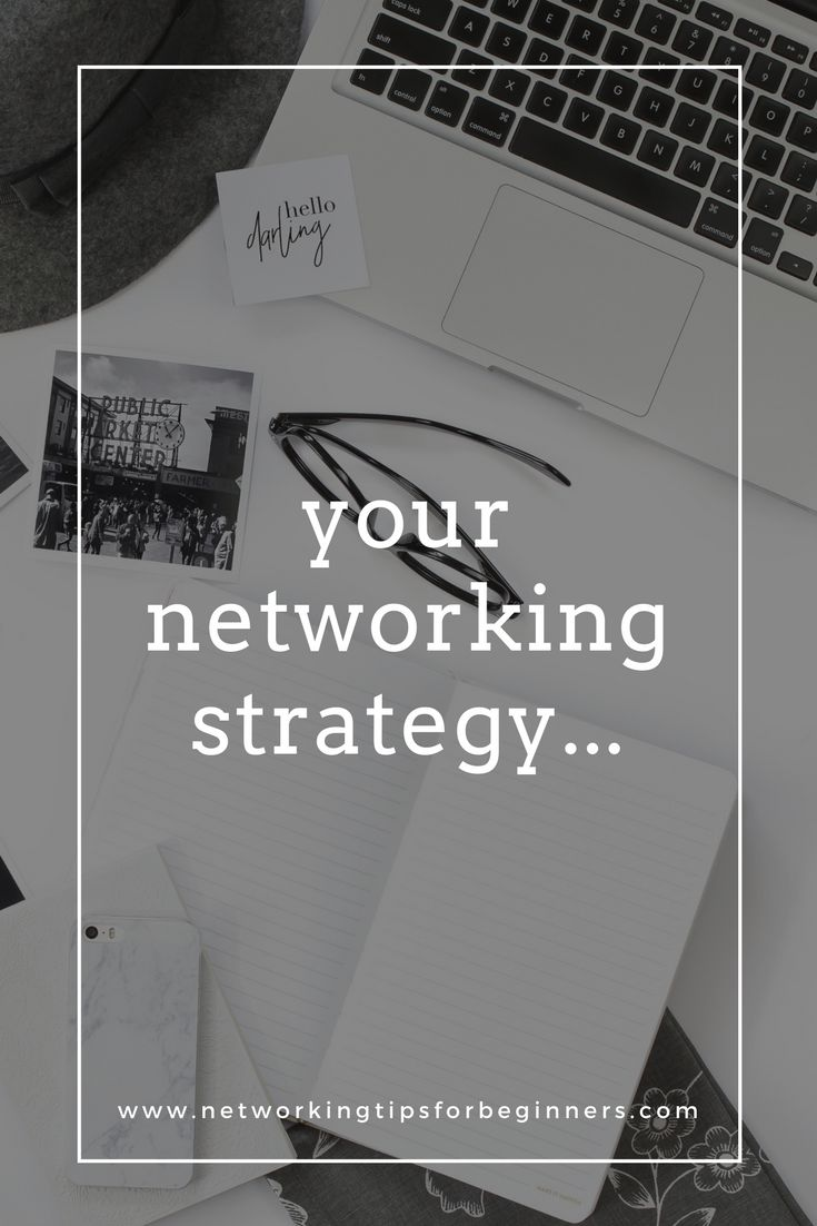 Write your own networking strategy...