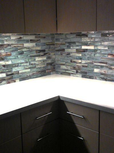 Glass Kitchen Tile Backsplash Ideas 53 best glass: the kitchen backsplash images on pinterest