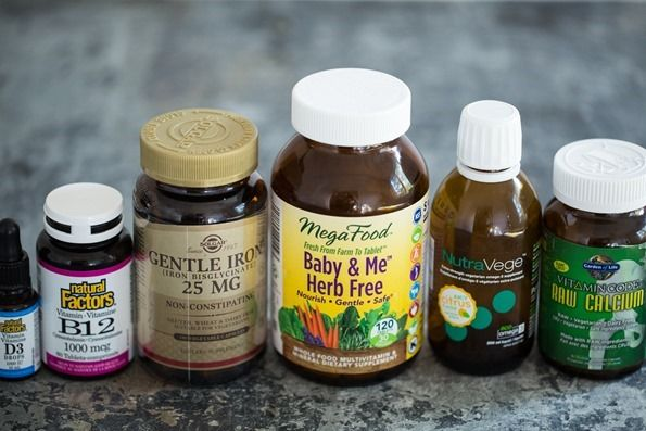 For when I have a baby someday....Vegan Prenatal Supplements