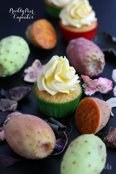Prickly Pear Cupcakes   Bake to the roots