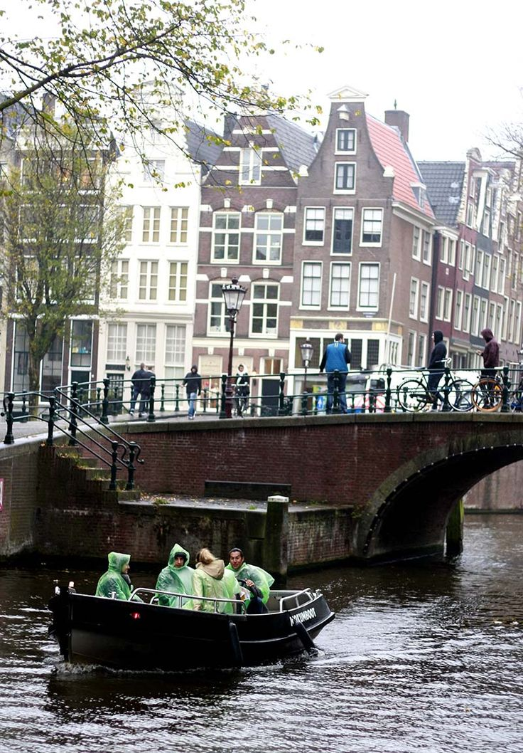 Top 5 Canal Boat Rentals in Amsterdam - boating is fun in Amsterdam, even on a rainy day! #amsterdam #boats