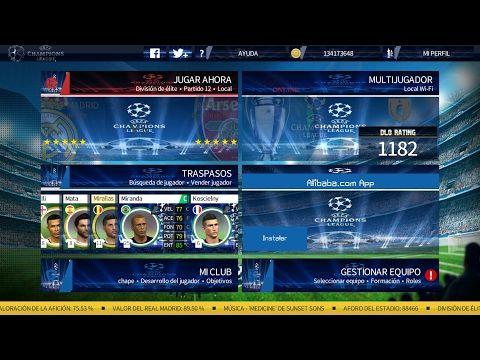 EL MEJOR DREAM LEAGUE SOCCER 17 UEFA CHAMPIONS LEAGUE - YouTube
