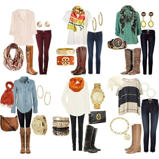 Great Post-Partum Outfits... wear with your maternity pants for a comfortable outfit that FITS!