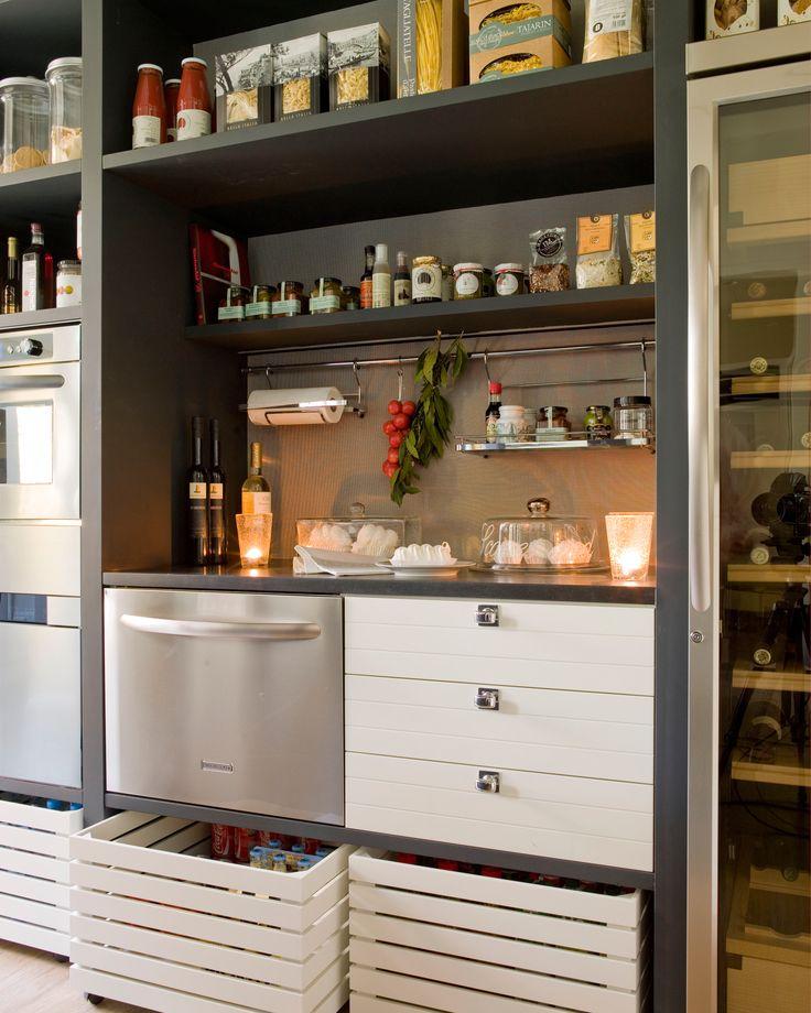 M s de 1000 ideas sobre despensa organizada en pinterest for Como ordenar la cocina