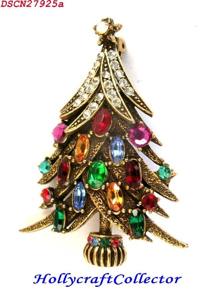 b5c71ee4a 27924a - VeRy RARE Multi Color HOLLYCRAFT Christmas Tree Pin | Vintage  Jewelry in 2019 | Jewelry christmas tree, Christmas Jewelry, Christmas  barbie