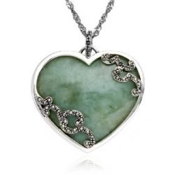 Jade, an ancient gemstone, is a powerful symbol used to attract love. Fantastic eye color idea.