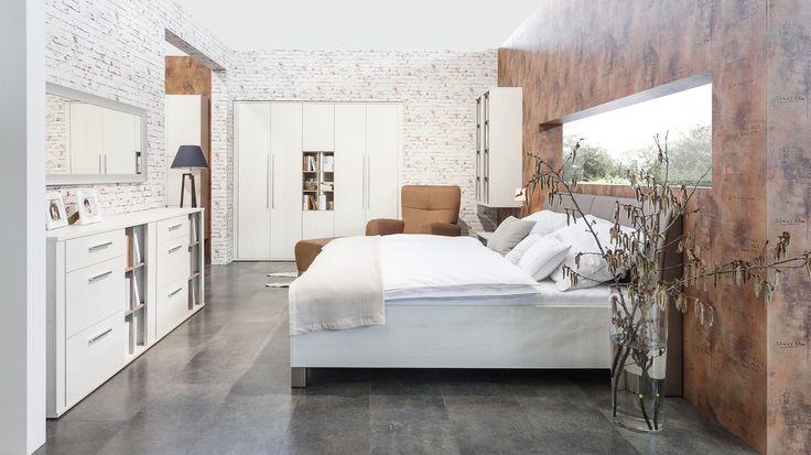 Spálňa Decodom: NORDIC prevedenie: Pino Aurelio - Pino Aurelio  [Bedroom: NORDIC colours: Pino Aurelio - Pino Aurelio]