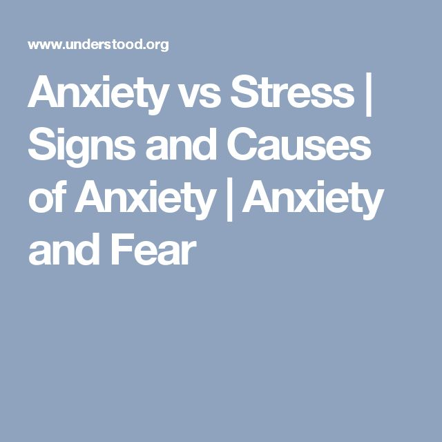 Anxiety vs Stress | Signs and Causes of Anxiety | Anxiety and Fear