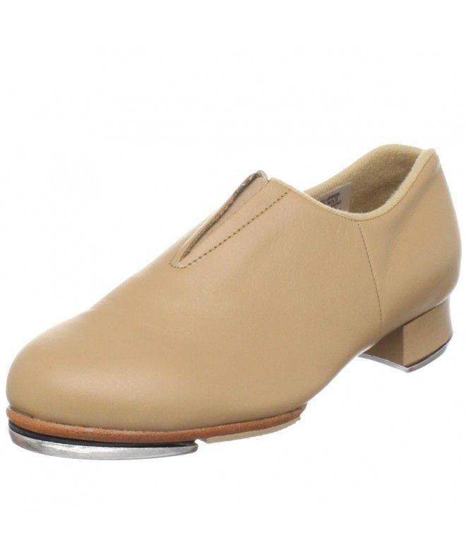 Girl's Tap-Flex Slip On Tap Shoe - Tan