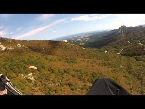 Paragliding over the #Misiryeong Ridge Mountains, #Gangwon Province, Korea (Part 1) | 미시령 패러글라이딩