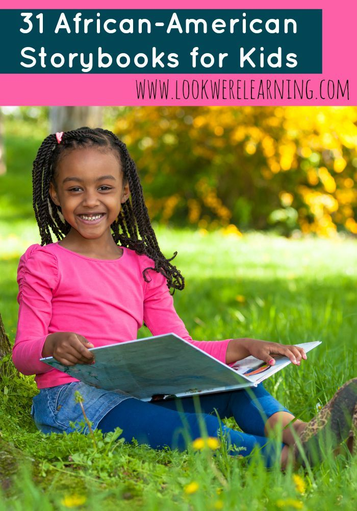 Want to read more kids' books with African-American characters? Browse our list of 31 African American Story Books for Kids to get some great suggestions!