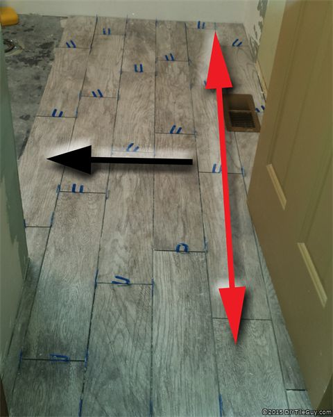 More Tips Tricks And Tools For Installing Wood Look Tile Flooring Best Patterns