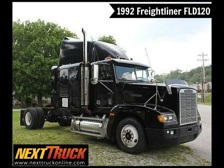 #ThrowbackThursday Check out this 1992 Freightliner FLD120 Sleeper. View more #Freightliner #Trucks at http://www.nexttruckonline.com/trucks-for-sale/by-make/Freightliner #Trucking #NextTruck #tbt